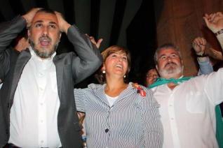 Pedro Mancebo, Antonia Moreno y Monserrate Guillén./Foto Información